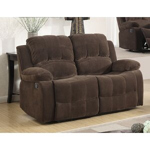 Fabric Recliner Reclining Loveseat by ..