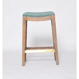 Probst Peacock Fabric Bar Stool by One Allium Way®