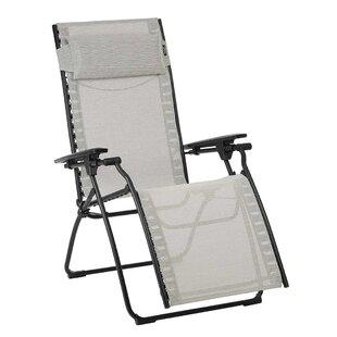 Evolution Reclining Folding Zero Gravity Chair By Lafuma