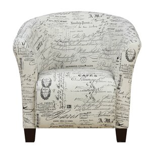 Yohann Accent Barrel Chair by Lark Manor