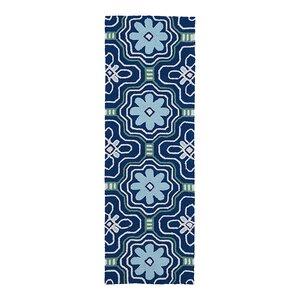 Bette Hand-Tufted Blue Indoor/Outdoor Area Rug