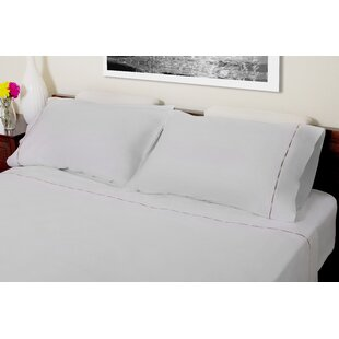 Hagerty Embroidery 310 Thread Count 100% Cotton Sheet Set