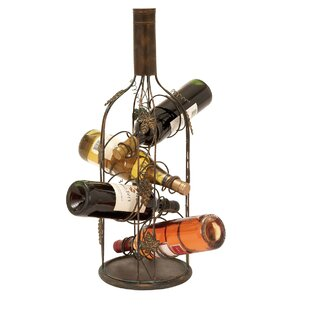 Urban 4 Bottle Tabletop Wine Rack by EC World Imports