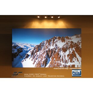 Aeon Series Gray Fixed Frame Projection Screen