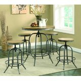 Elam 5 Piece Counter Height Dining Set by 17 Stories