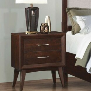 Cecere 2 Drawers Nightstand by Latitude Run
