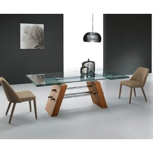 Clower Contemporary Extendable Dining Tab..