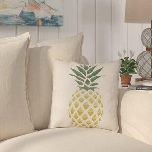 Brookwood Pineapple Indoor/Outdoor Throw Pillow