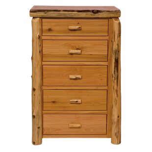 Premium Cedar 5 Drawer Lingerie Chest