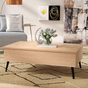 Ivy Bronx Bisson Coffee Table with Lift Top