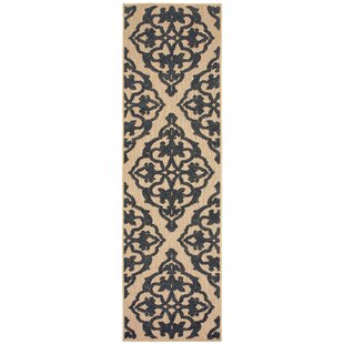 Jayceon Black/Beige Indoor/Outdoor Area Rug