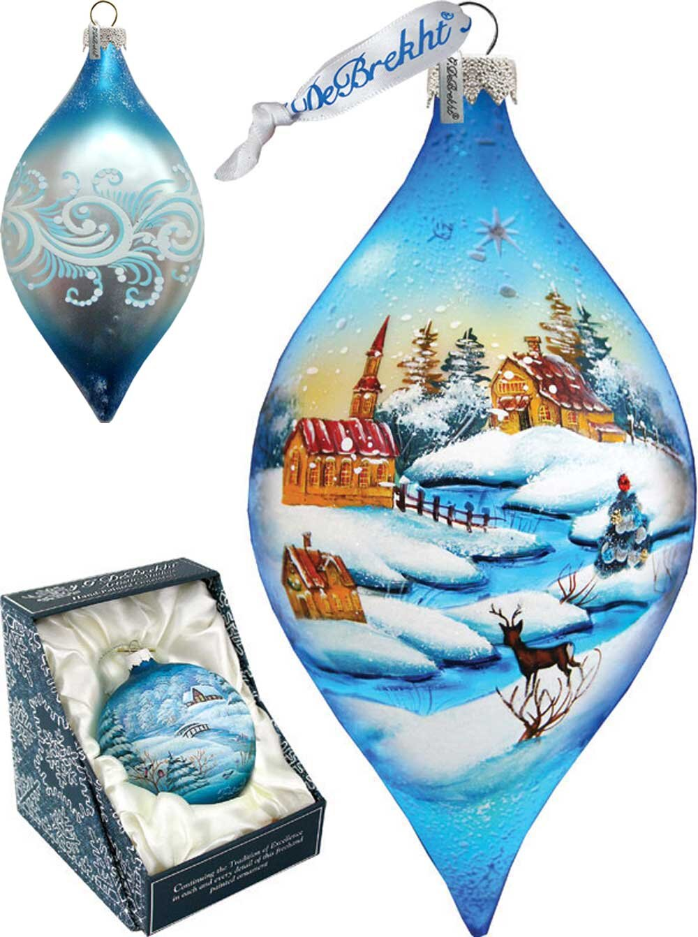 Blue Lighted Christmas Ornaments You Ll Love In 2021 Wayfair