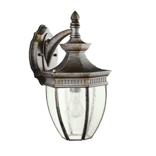 Darby Home Co Badley 1-Light Outdoor Wall Lantern