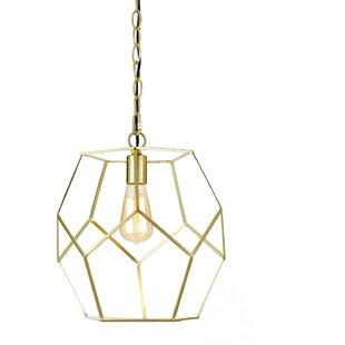 Todd Modern 1-Light Pendant by Mistana