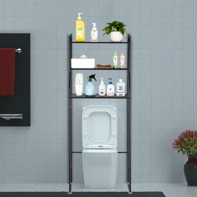 Metal Amp Rattan Amp Wicker Over The Toilet Storage You Ll