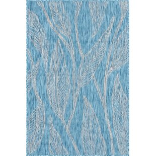 Kyte Blue/Gray Indoor/Outdoor Area Rug