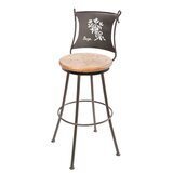 Sage Swivel Bar & Counter Stool by Stone County Ironworks