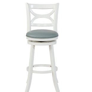 Giorgio 29.5 Swivel Bar Stool Highland Dunes