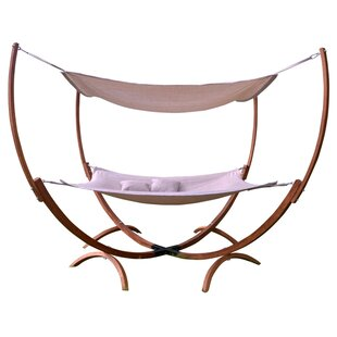 Leisure Season Irby PVC-coated polyester Hammock with Stand