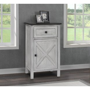 Lamb Farmhouse 1 Drawer Nightstand
