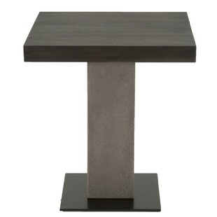 Read Reviews Emily Pedestal End Table by Foundry Select