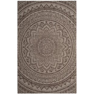 Atlanta Beige/Brown Rug by World Menagerie
