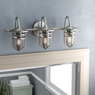 Read Reviews Mullin Wall Mount 3-Light Vanity Light By Beachcrest Home