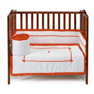 Crestline 3 Piece Cradle Bedding Set by Harriet Bee