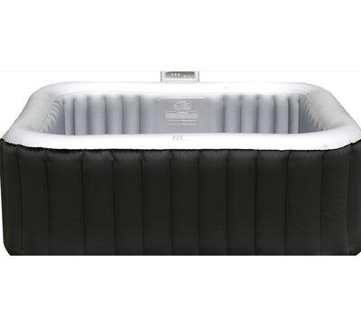 alpine 4person 108jet square bubble spa - Wayfair Hot Tub