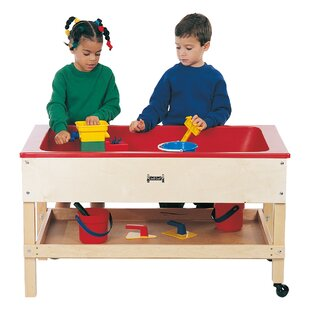 Sand-n-Water Sensory Table With Shelf By Jonti-Craft