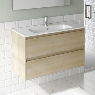 Durazo Contemporary 24 inch  Single Bathroom Vanity Set