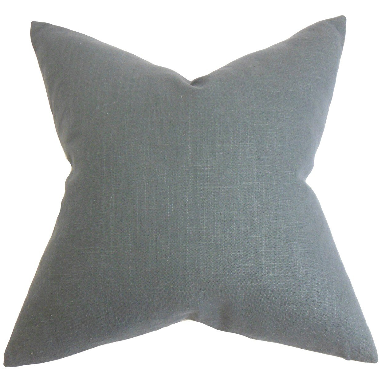 Breakwater Bay Yaretzi Solid Throw Pillow Reviews Wayfair