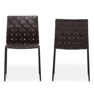Wholesale Interiors Baxton Studio Dina Modern and Contemporary Side Chair (Set of 2)
