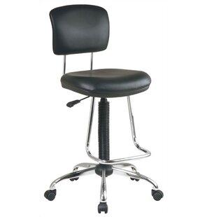 modern drafting chair. Work Smart Low-Back Drafting Chair Modern