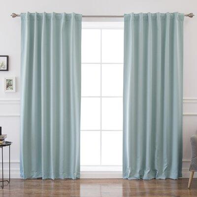 Modern Rod Pocket Curtains Drapes Allmodern