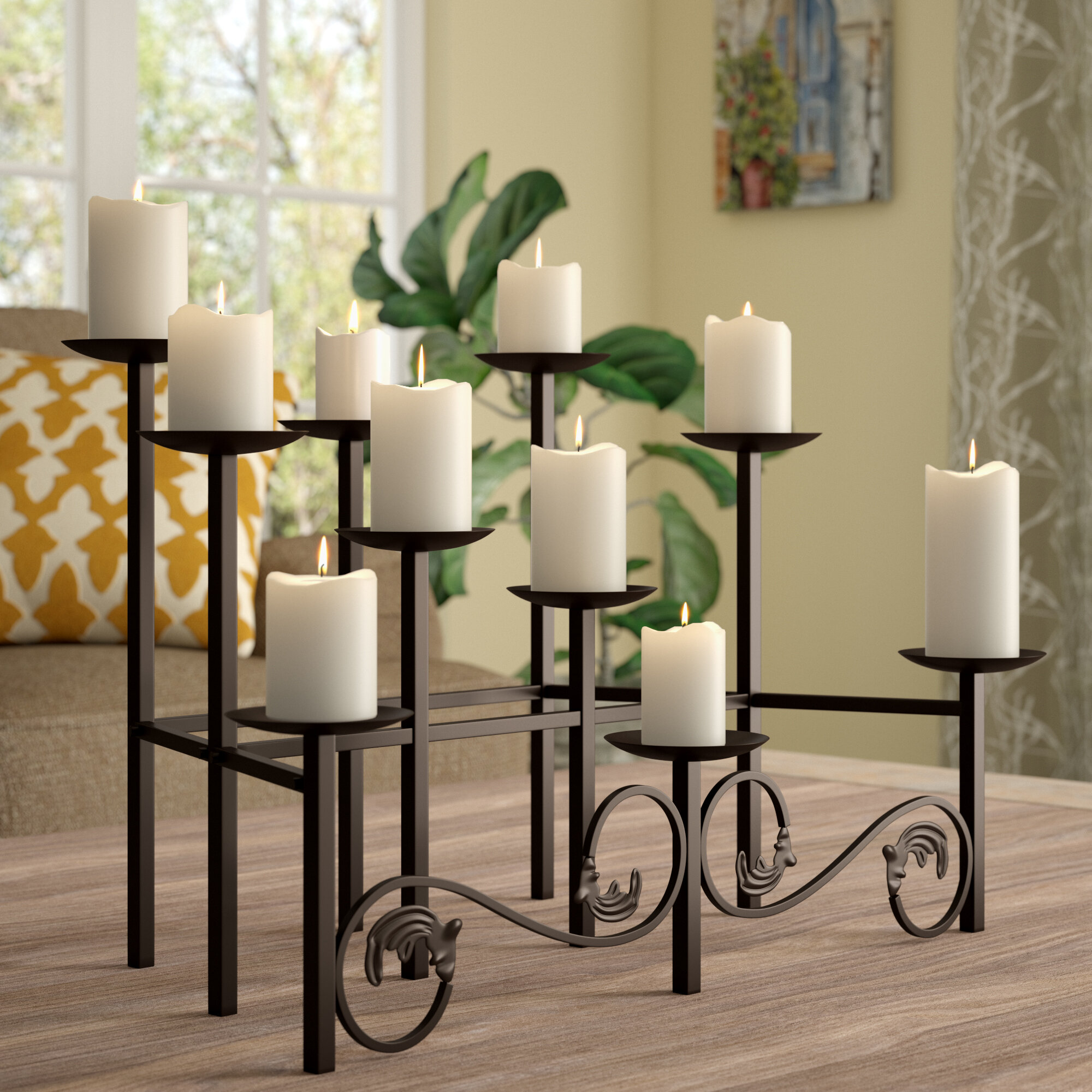 Pleasing Candelabra Fireplace Candle Holders Youll Love In 2019 Interior Design Ideas Gentotryabchikinfo