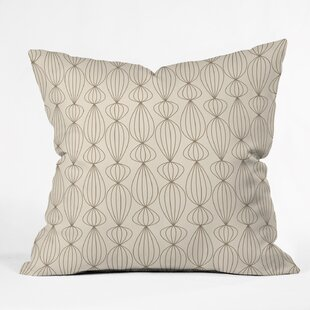 Tyrone Mocha Outdoor Throw Pillow