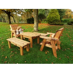 Fitzpatrick Children's 5 Piece Play Table And Chair Set By Union Rustic