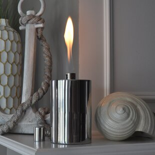 Starlite Garden and Patio Torche Co. Polished Manhattan Tabletop torch