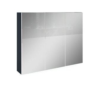 Dynamic Plus 90 x 70cm Mirrored Wall Mounted Cabinet by Devo