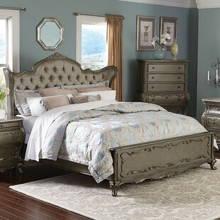 Turville Upholstered Panel Bed by Astoria Grand