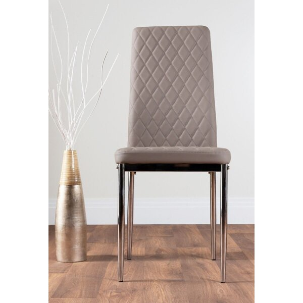 Metro Lane Absolon Upholstered Dining Chair Reviews Wayfair Co Uk