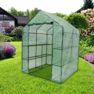 Laurencho 1.4m W X 1.4m D Greenhouse By Sol 72 Outdoor