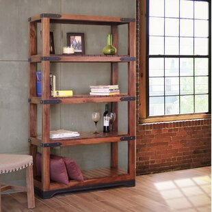 Millwood Pines Stines Etagere Bookcase with 4 Shelves