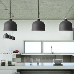 Breene 1-Light Dome Pendant by Wrought Studio