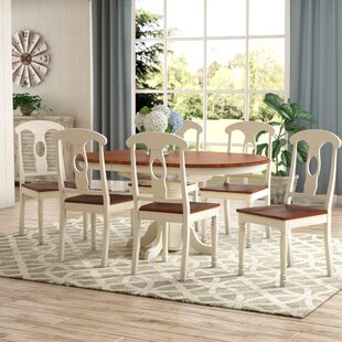 August Grove Aimee 7 Piece Dining Set