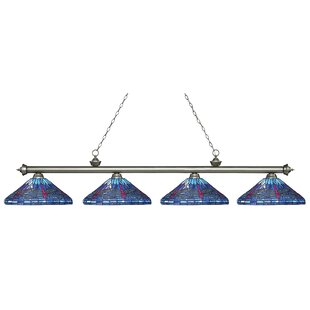 August Grove Earleville 4-Light Pool Table Lights Pendant
