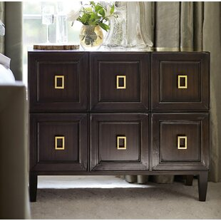 Jet Set 2 Drawer Bachelor's Chest by Bernhardt