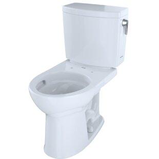 Toto Drake® II 1 GPF Round Two-Piece Toilet
