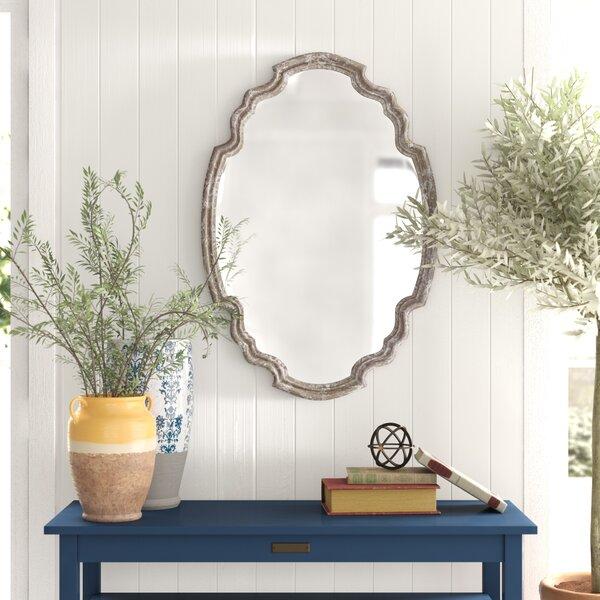 Distressed Wood Mirror Wayfair